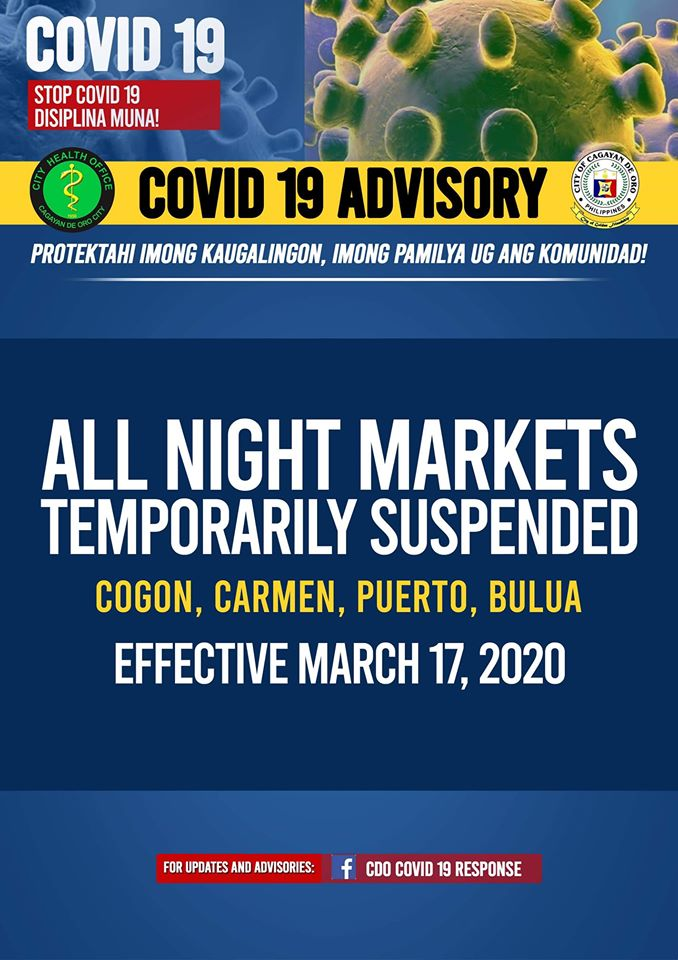 ALL Night Markets Suspension