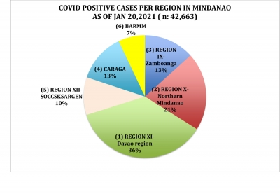 LOOK: How Region 10, NMMC and Cagayan de Oro managed its efforts in their fight against the spread of COVID 19 as of January 20, 2021