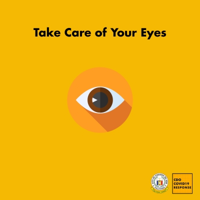 Work From Home Reminder: Take Care of Your Eyes